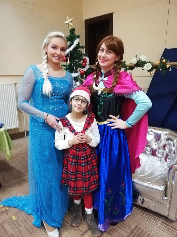 TDU fête Noël Ana et Elsa