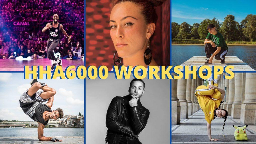 HipHop A6000 Workshops