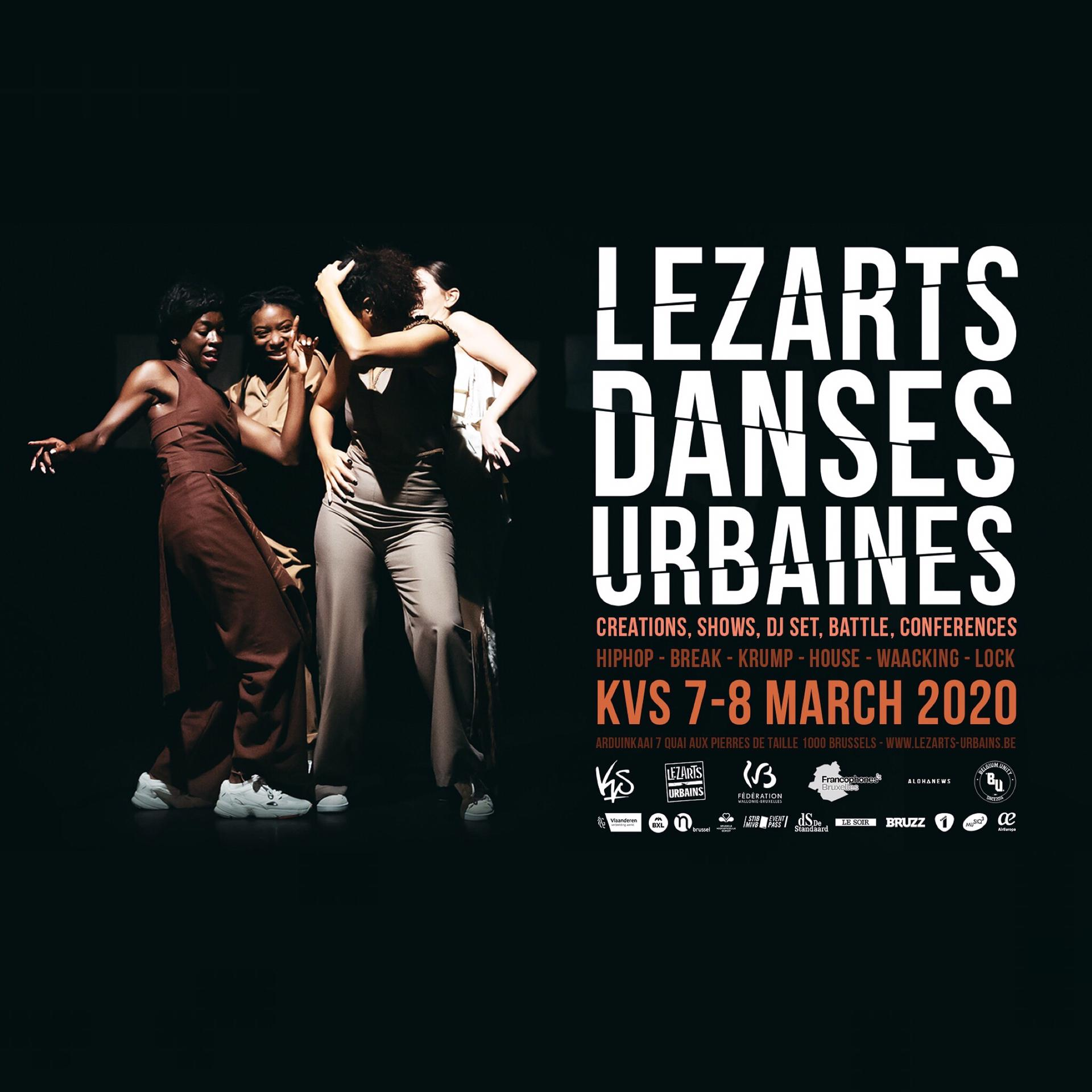 Festival Lezarts Danses Urbaines Lezarts Urbains KVS