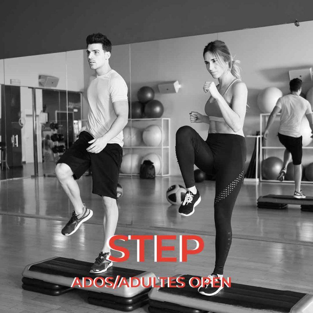 cours de step