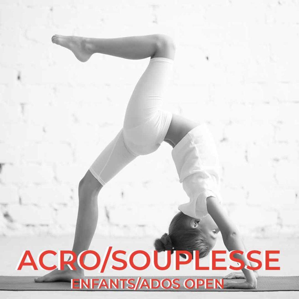 cours de acrobatie et souplesse