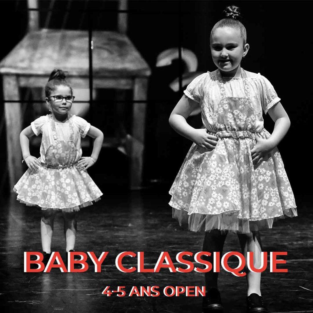 cours de danse baby classique