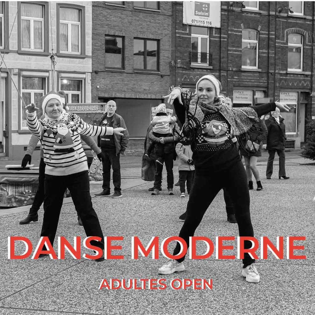 cours de danse moderne pour adultes