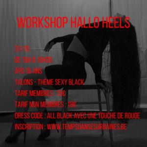 workshop halloheels